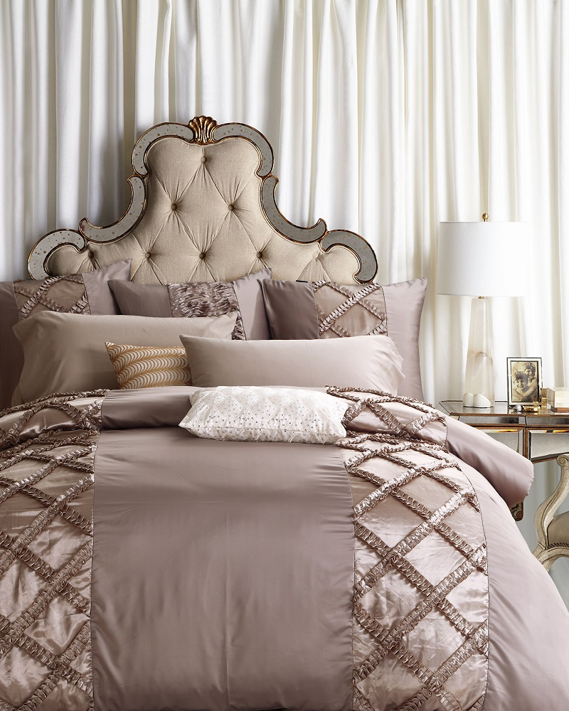 European Stain Silk Luxury Royal Boho Bedding Set King Queen Size Bed set  Grey Duvet Cover. Online Buy Wholesale grey bed sets from China grey bed sets