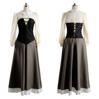 Hot Sleeping Beauty Costume Adult Cosplay Party Princess Dress Costume Prom Gown Halloween Carnival