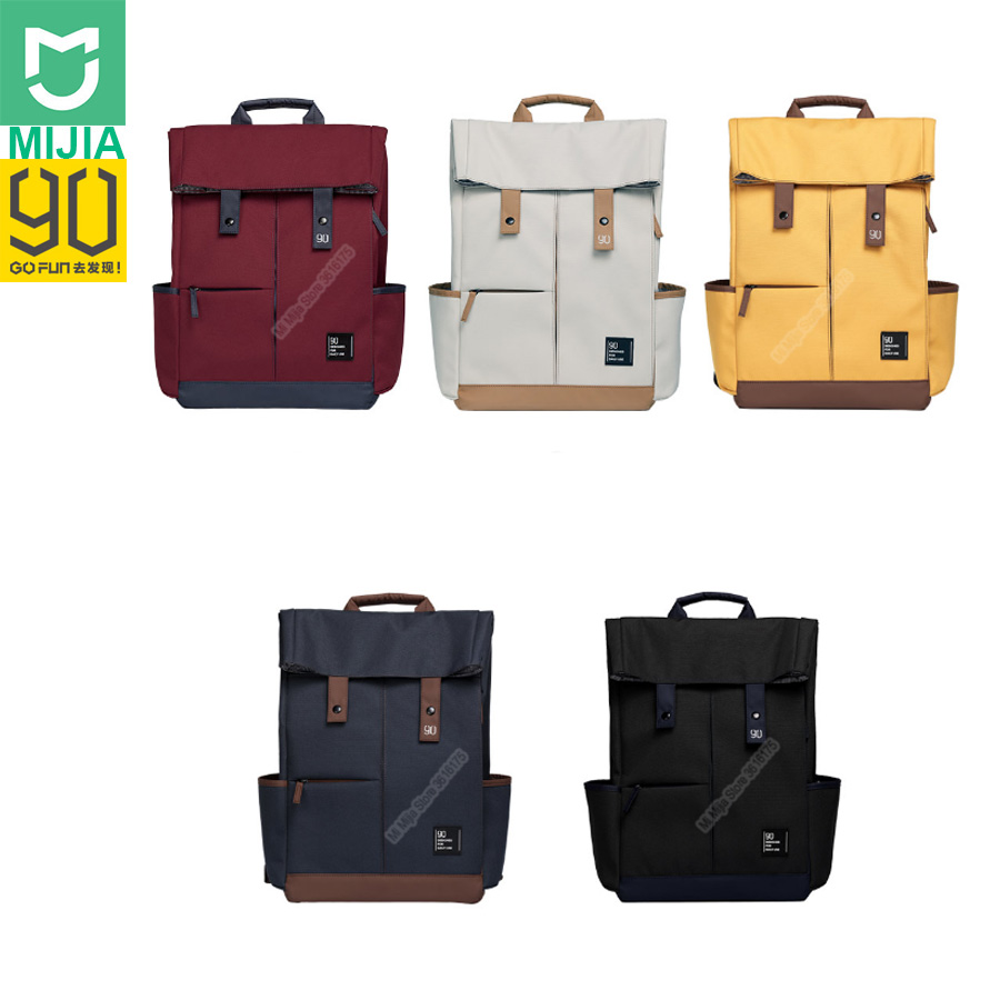 Xiaomi Youpin 90Fun Backpack College Casual Bag Large Capacity Bag Suit 14 inch to 15 6