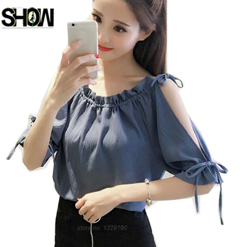8646a258575a8 Detail Feedback Questions about 4 Colors Off Shoulder Tops Hot Sales ...
