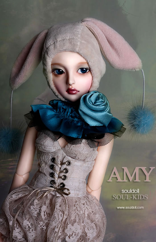 luodoll  BJD doll SD doll 1/4 female baby souldoll AMY send bjd eye birthday gift