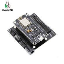 ノード mcu 開発キット V3 CH340 nodemcu + モーターシールド wifi Esp8266 Esp 12e diy rc のおもちゃリモートコントロール lua iot スマート車 Esp12e