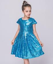 new kids girl dress girl dress sleeveless tutu dress dress girl wedding baby girl clothes Stage performance Wedding presiding wedding girl
