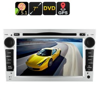 2 DIN Opel Car DVD Player GPS, 7 Inch Touch Screen, CAN BUS Decoder, 3G Dongle Support, Wi Fi, Android 5.1 OS, Region Free DVD