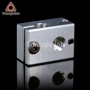 Image 3 - Trianglelab Highall metal V6 Hotend 12V/24V Remote Bowen Print J head Hotend and Cooling Fan Bracket For E3D HOTEND For PT100