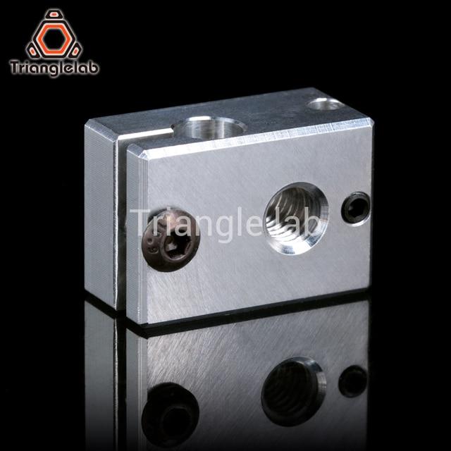 Trianglelab Highall-metal v6 hotend 12V/24V remote Bowen print J-head Hotend  and  cooling fan bracket for E3D HOTEND for PT100 2
