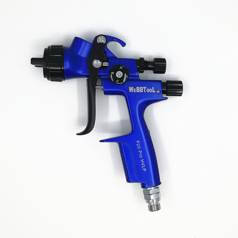 P20 Pro Gravity spray gun car paint gun painted high efficiency HVLP 1.3mm Sprayer used as the spraying tool of furniture