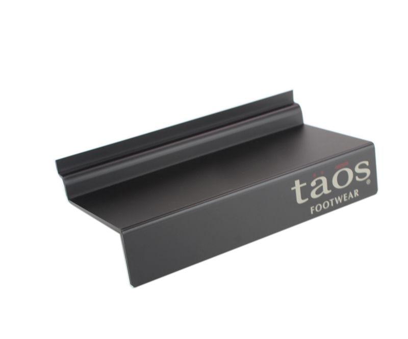 Acrylic Slatwall Shoe Shelf, Acrylic Shoe Wall Mounted Display Shelf