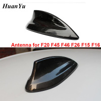 Carbon Fiber Airspeed Antenna for BMW 1 Series 2 Series X4 X5 X6 F20 F45 F46 F26 F15 F16 Shark Fin Cover Trim Roof Stickers
