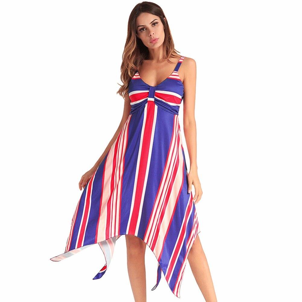 Women Dress Summer Sleeveless Sweet Boho Sexy Party Night Club Wear Evening 2018 Vintage Floral Ladies Bandage Dresses