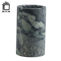 0.5KG Marble Stone Ancient Chinese Style Pen Pencil Holder Elegant Office Study Decoration DLS17807