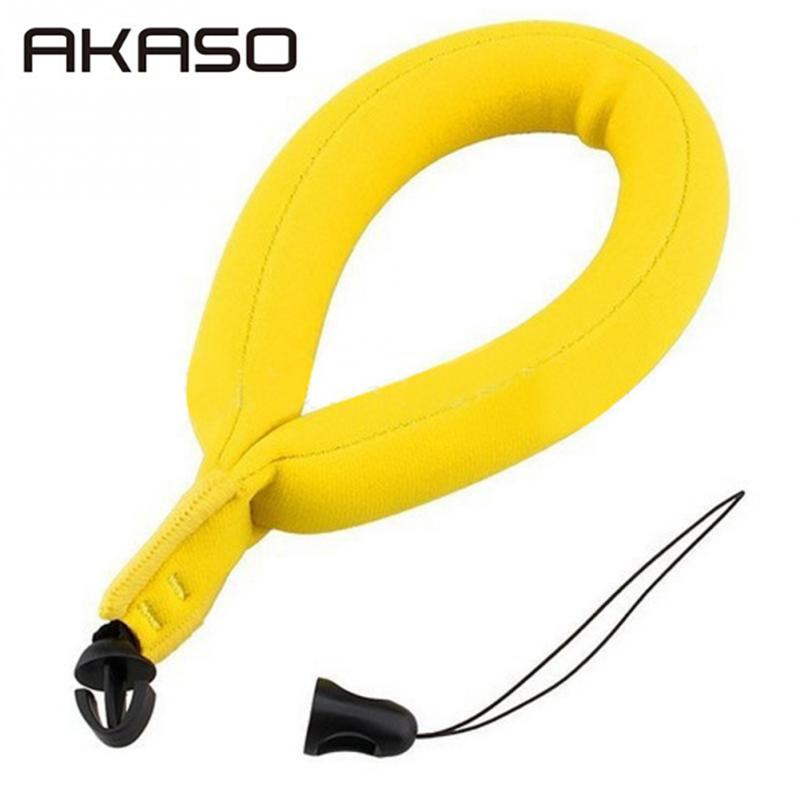 AKASO Hand Bobber Floating Wrist Strap For Gopro Hero Chest Head Wrist Mount Strap For Go Pro XiaomiAction Camera