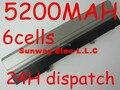 5200 mAh 6 células Bateria Do Portátil Para dell Latitude E4300 E4310 0FX8X 312-0822 312-0823 312-9955 451-10636 451-10638 451-11459