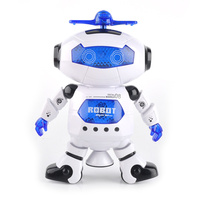 Wonderful High Quality Smart Space Dance Robot Electronic Walking Toys With Music Light Gift For Kids