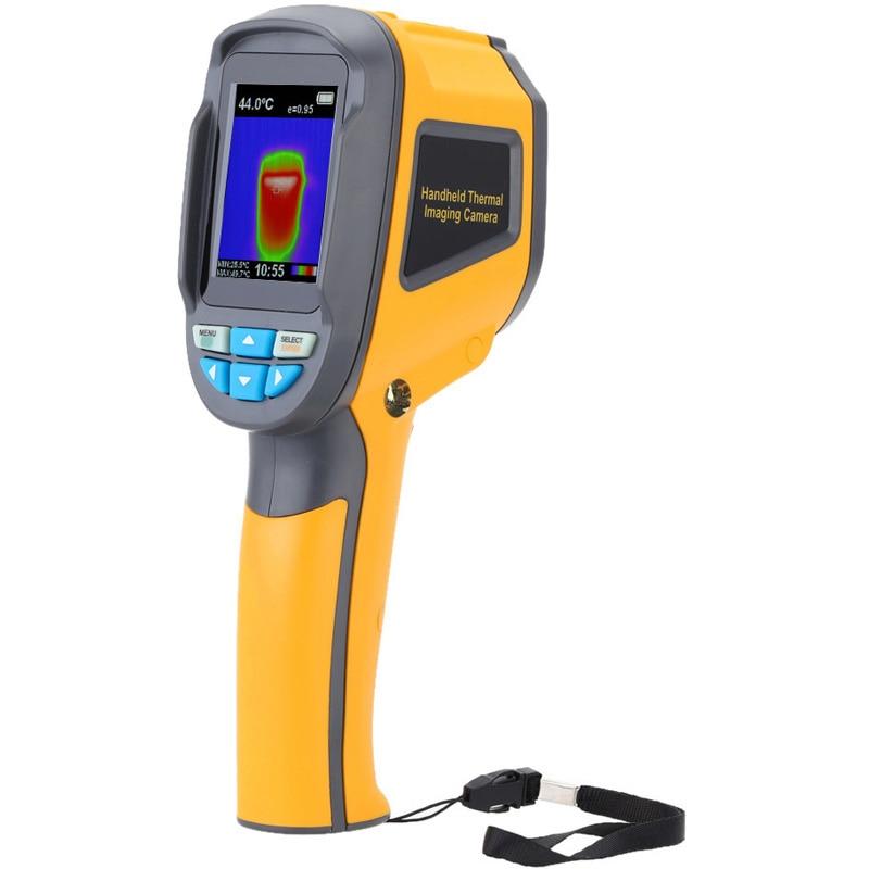 Appareil de contrôle thermique infrarouge d'appareil-photo de thermographe tenu dans la main d'affichage à cristaux liquides appareil de contrôle de température d'imageur infrarouge numérique avec la couleur de 2.4 pouces