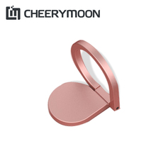 CHEERYMOON Water Droplets Series Holder Universal Mobile Phone Ring 360 Rotary Magnetic Metal Finger Grip Stand For IPhone 8