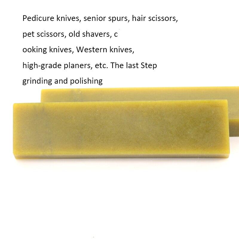 Western Chef couteau lame miroir polissage aiguiseur meule whetStone 12000 grain jaune Pulpstone 210*50*20mm-in Aiguiseurs de Couteaux from Maison & Animalerie    3