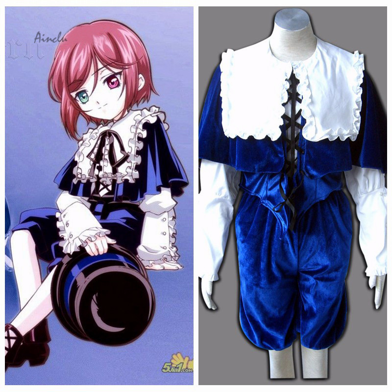 Ainclu Customize Free Shipping Costume Rozen Maiden Anime Souseiseki Halloween Cosplay For Kid Costume and Adult Costume