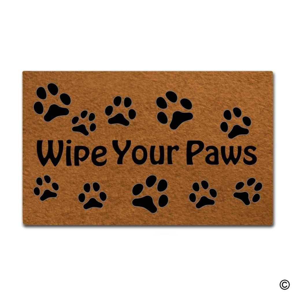Doormat Entrance Floor Mat Funny Doormat Wipe Your Paws