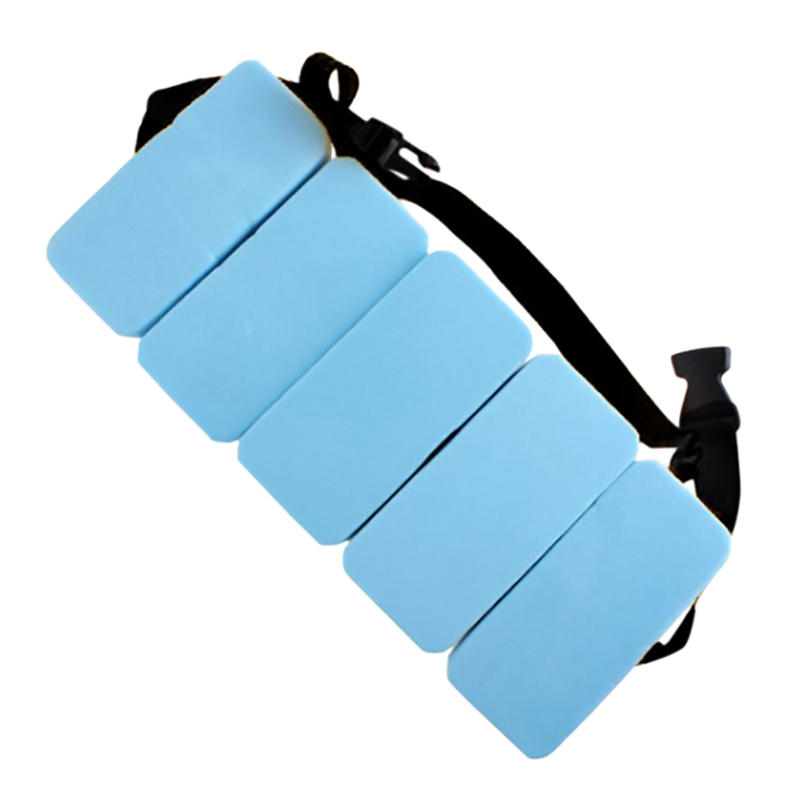 Eva Swiming Float Adjustable Waist Belt Children Swimming Board Practice Swimming Aids Swimming Training Tools drifting suit in Life Vest from Sports Entertainment