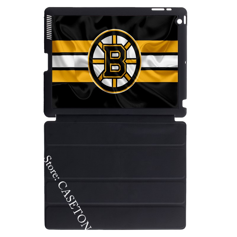 Boston Bruins Ice Hockey Lover Cover Case For Apple iPad Mini 1 2 3 4 Air Pro 9.7 10.5 1 ...