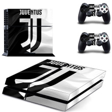 Juventus Football Cristiano Ronaldo PS4 Skin Sticker Decal Vinyl for Sony Playstation 4 Console and 2 Controllers PS4 Skin