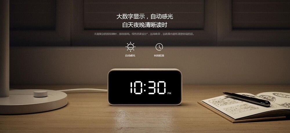 Xiaomi mijia xiaoai Smart Voice Broadcast Alarm-9