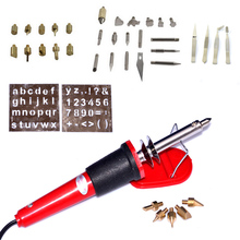 Full Set Wood Burning Kit  42 Pcs Pyrography Include Assorted Burning/Carving/Embossing & Soldering Tips