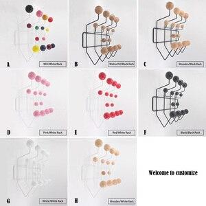 Image 5 - Multicolor Hange Mobili appendiabiti Cremagliera Palla Milti purpose Gancio Per La Parete Ornamenti Per Il Regalo Del Capretto del Sacchetto del Metallo Decor.