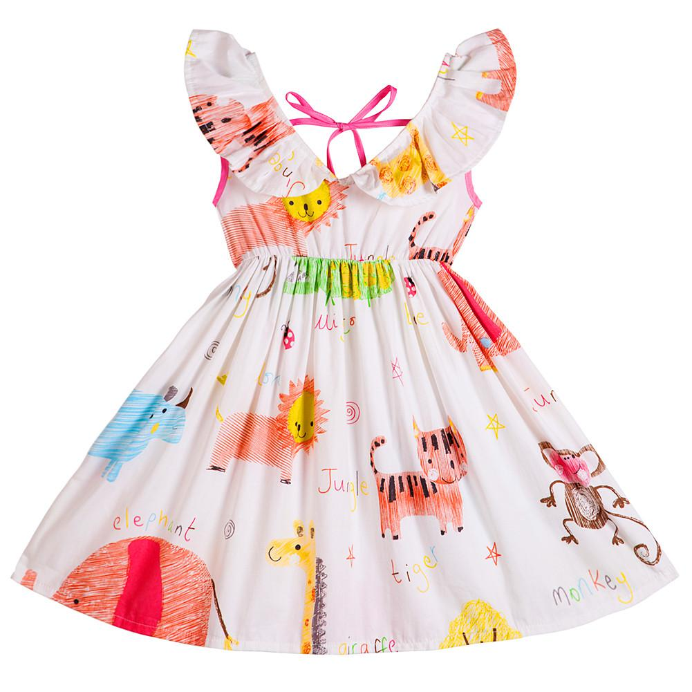 NEW Toddler Girls Sleeveless Dress Size 2T Party Outfit Pink White Zebra Print