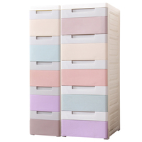 Storage drawers cabinet for kitchen narrow plastic chest of drawers organizer plastic box organizador save space furniture