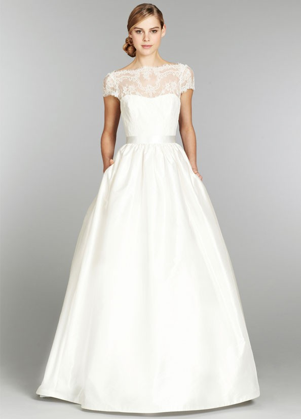 Bridal-Gown Short Mother-Of-The-Bride-Dresses Lace Corset Satin A-Line Floor-Length Cap-Sleeve