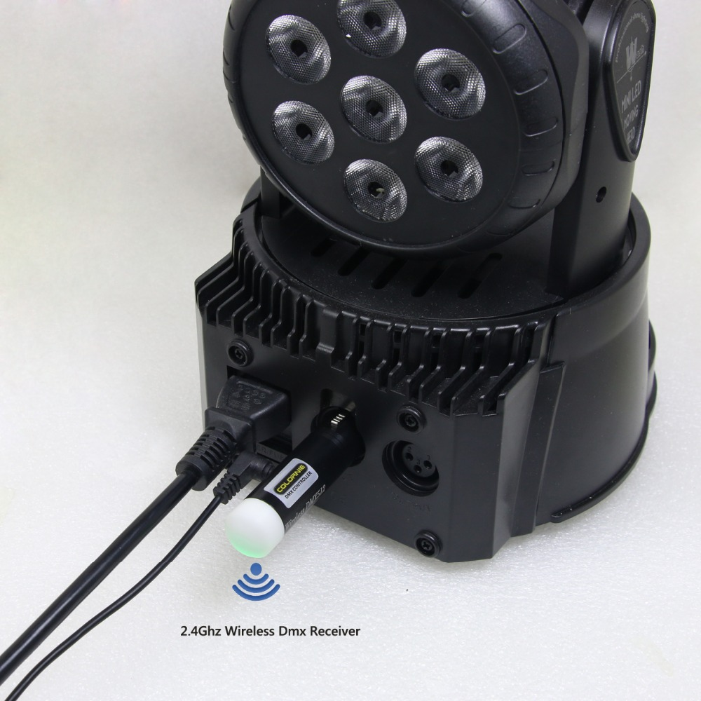 Moving Head Lights WIFI Controller 2.4G DMX512 Wireless Receiver MINI Controller For DJ Disco Light Party