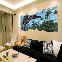 3d Wall Stickers Dinosaur Jurassic World Decals Room