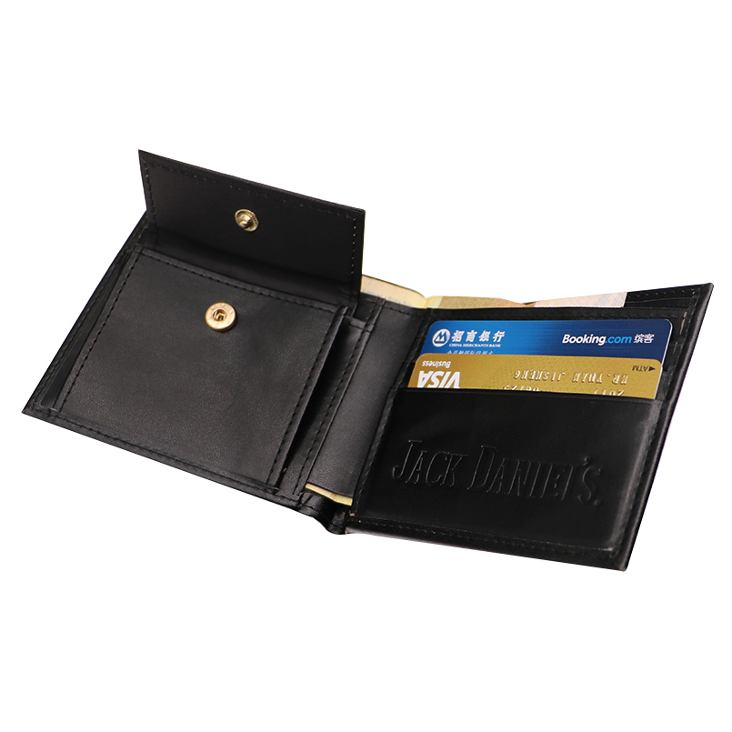 Jack Daniel's Black Whiskey Billfold Wallet (17)