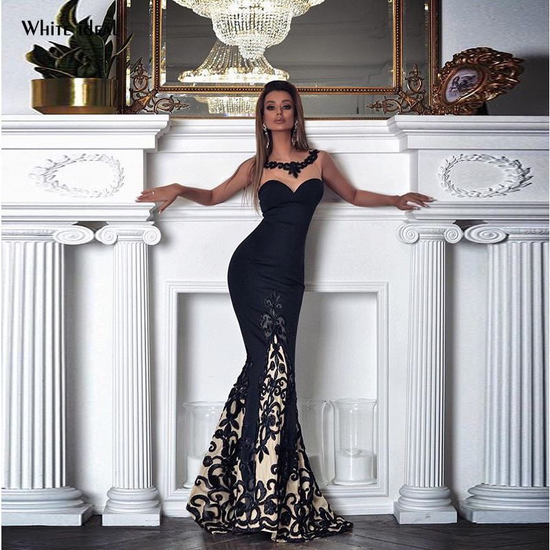 Black   Evening     Dress   Elegant Long Lace Formal   Dress   Women   Dress     Evening   Party Long Lace   Dress   for   Evening   Prom