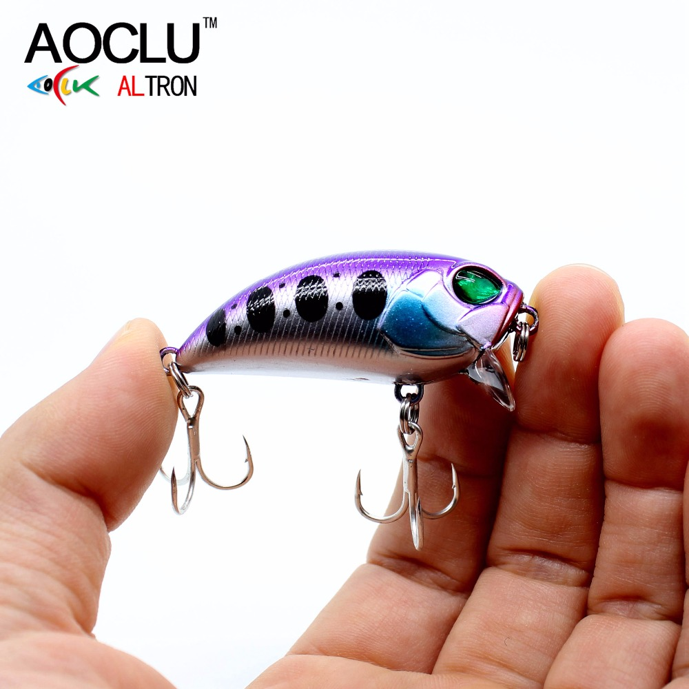 AOCLU lures wobblers Jerkbait 46cm 8.3g Hard Bait Minnow Crank fishing lure saltwater Bass Fresh BKK hooks 7 colors LURE tackle 6pieces fresh water lure set hard bait minnow fishing lure 14cm 16 2g