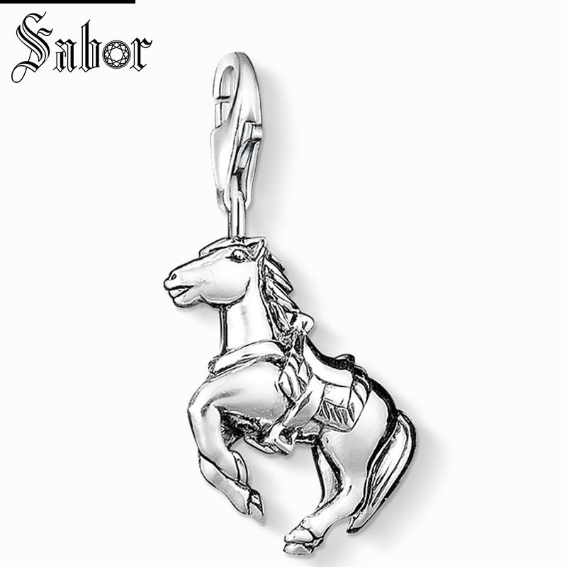Thomas Runing Horse Charm Gifts Jewelry For Women,2019 Sporty Animals Gift Sterling Silver Fit Bracelet Charms Jewelry Sets & More