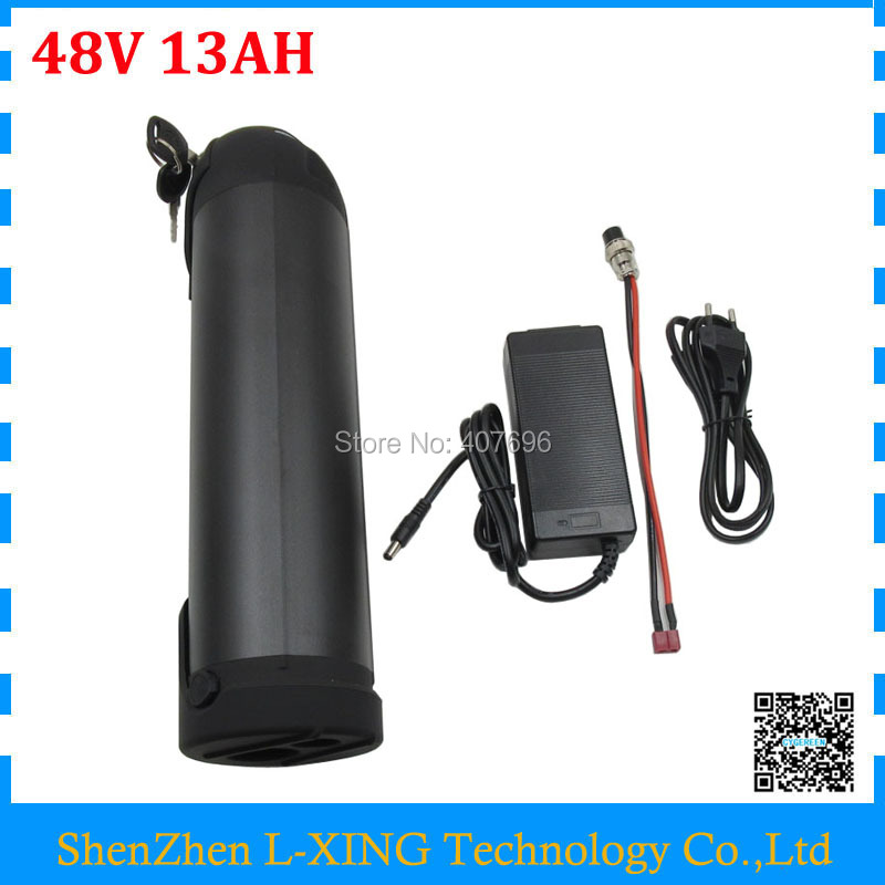 Free customs duty 48V 13ah Water Bottle battery 48V lithium battery 13AH fit Bafang BBS02 750W 20A BMS 54.6V 2A Charger free customs duty best quality diy 48 volt lithium battery pack with charger and bms for 48v 10ah li ion battery pack