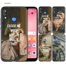 Silicone Case Cover for Huawei P20 P10 P9 P8 Lite Pro 2017 P Smart+ 2019 Nova 3i 3E Phone Cases art painting Birth of Venus(China)