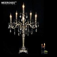 Новое поступление кристалл стол, светильник Винтаж светильник Lamparas стол блеск для гостиной столовой тумбочка свет