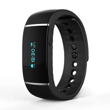 New Arrilval Bluetooth Smart Bracelet Wristband S55 IP67 Waterproof Smartband Pedometer Health Band For iPhone Android Phone