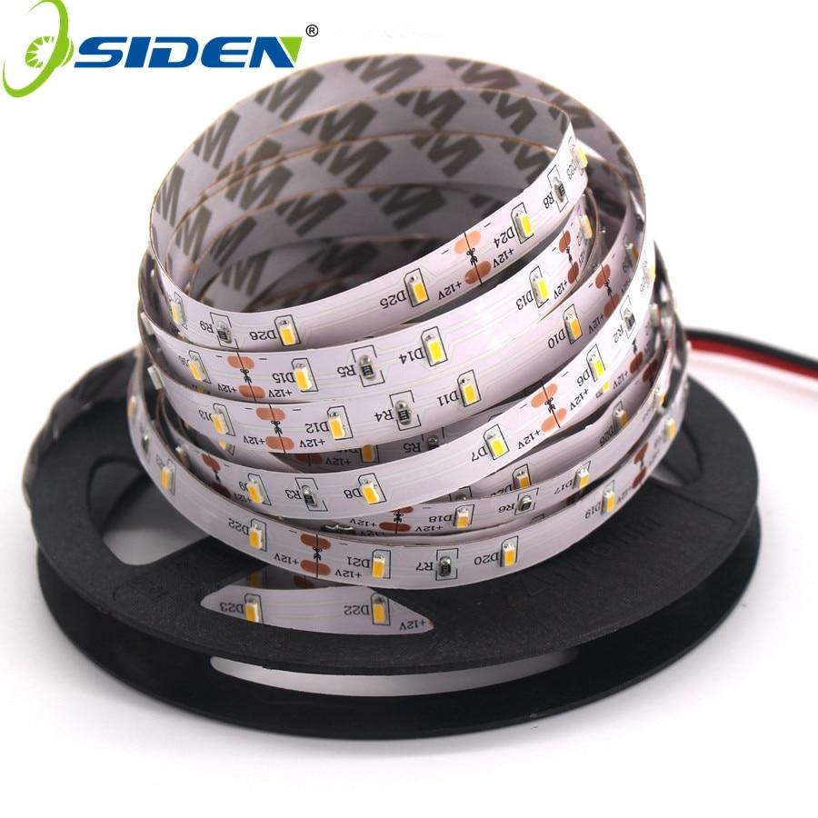 OSIDEN Strip light High Luminous Flux 3014 SMD 5M 300 LED More Bright Than 3528 Lower Price 5050 5630 Decor String lamp Tape
