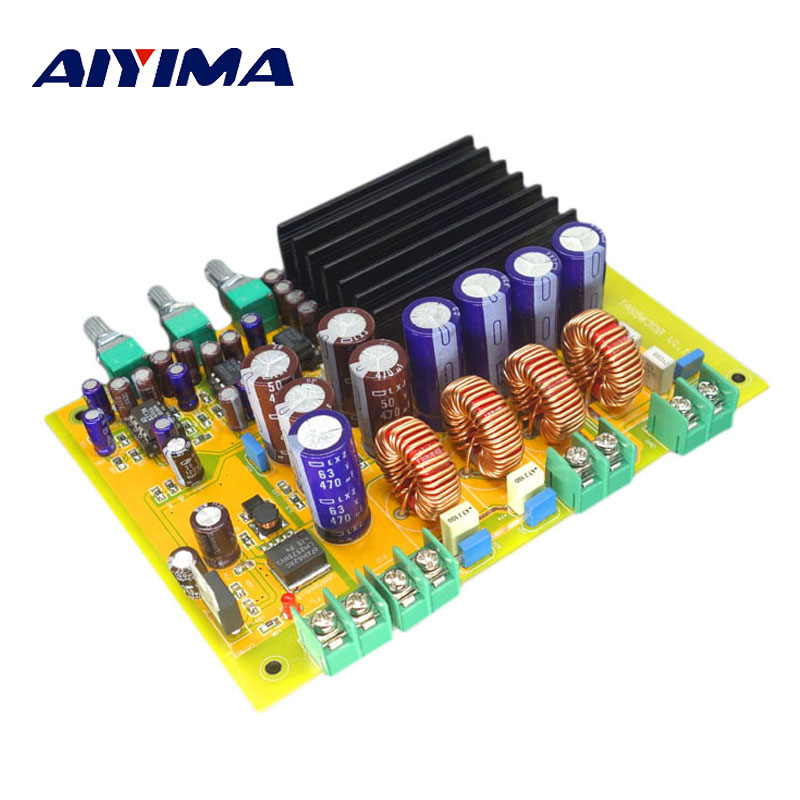 Aiyima TAS5630 Subwoofer Amplifier Board 150W*2+300W 2.1 Channel Class D Digital Amplifiers Sound System Speaker Home Theater купить