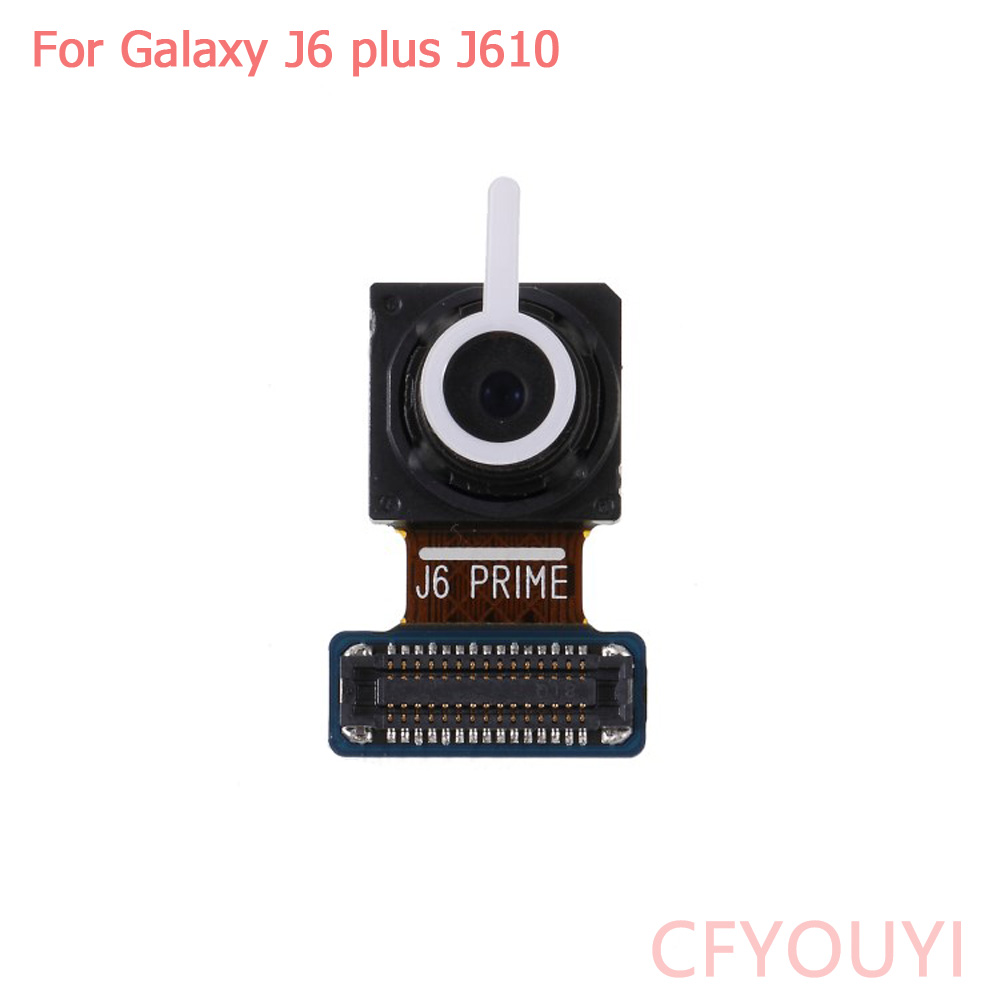 For Samsung Galaxy J6 2018 J600 J6 Plus J610 Front Facing Camera Module Replace Part