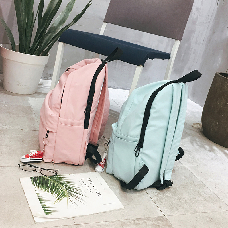 9f157f5ec35 OUFENLANDI Genuine Brands Backpacks For Girl Backpack Travel Bag Women  Large Capacity Bags For Mochila Preppy Sweet Back Bag-in Backpacks from  Luggage ...