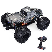 ZD Racing MT8 Pirate 3 RC Car 1/8 120A Waterproof Brushless ESC RC Monster Truck RTR Adjustable Shock Absorber Off Road Car