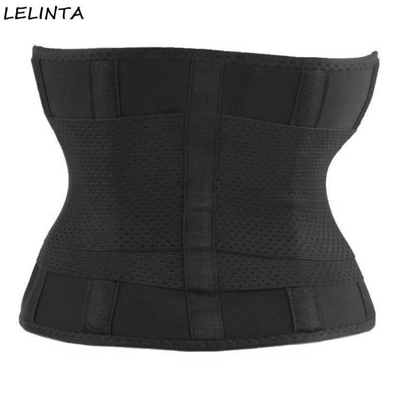 2c3369751 ... LELINTA Waist Trainer Weight Loss Belt-Workout Corset and Stomach  Slimming Wrap Tummy Control Body ...