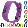 1PC Fashion Silicone Design Replacement Wrist Band With Metal Buckle For Garmin Vivofit 3 Wristband 13 Colors
