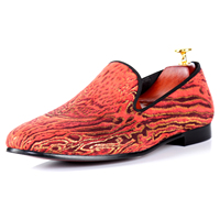 Harpelunde Flat Shoes Leopard Print Red Casual Shoes Brand Men Footwear Free Drop Shipping Size 7